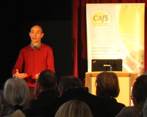 Phil Davies CAfS speaks on community energy