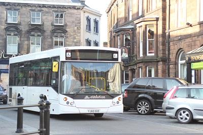Bus in Penrith