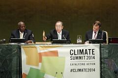 UN Climate Summit 2014. Credit: UN Photo Cia Pak