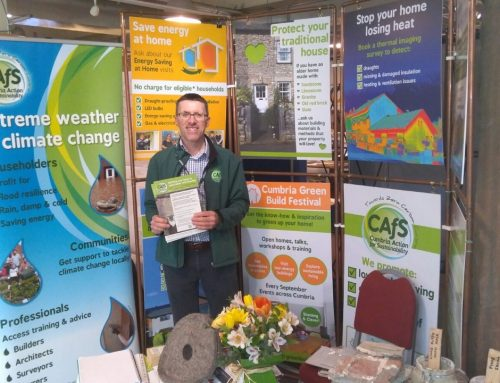 CAfS to host workshop at Cumbria Life Home & Garden Show
