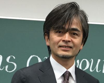 Nobutaka Matoba, a Japanese professor of policy science who visited CAfS in March 2019