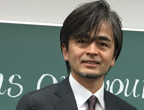 CAfS' work attracts Japanese professor of policy science