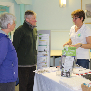 Penrith residents get advice on flooding from Emma Greenshaw of CAfS