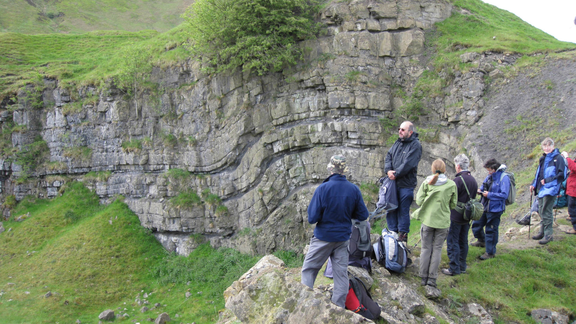 Visitors enjoy the Geltsdale area