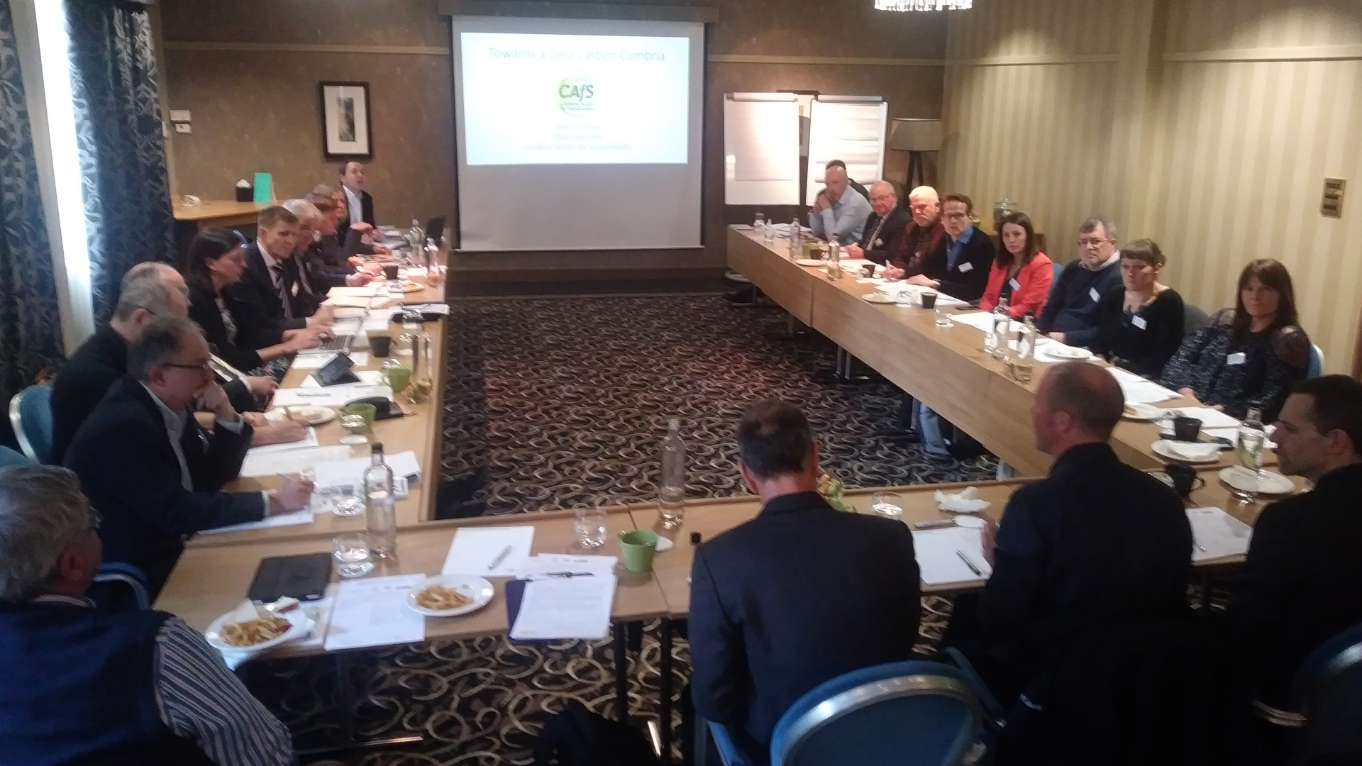CEOs and senior directors discuss how they can tackle climate change at the Lake District National Park Partnership Leaders Summit