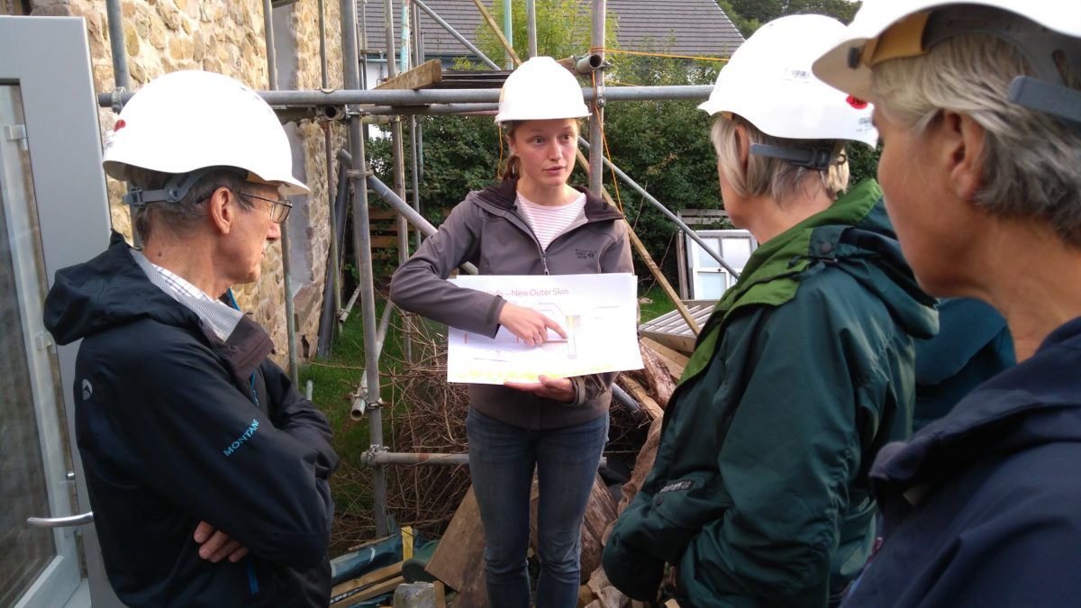 CAfS Green Build Festival attendees get inspired by seeing other low-energy builds