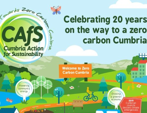 Celebrating 20 years on the journey to a zero carbon Cumbria!