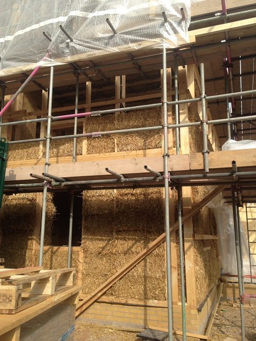 Open home: Straw bale new-build home with clever technologies 1.30pm
