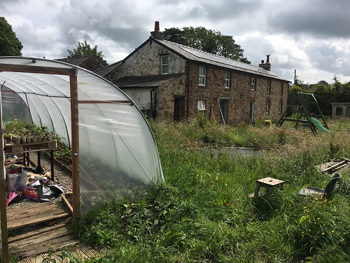 Open home: Sustainable smallholding renovation with renewables & food growing