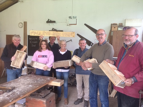 Making pallet projects – practical workshop