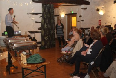 Mike Berners-Lee speaks at CAfS food event