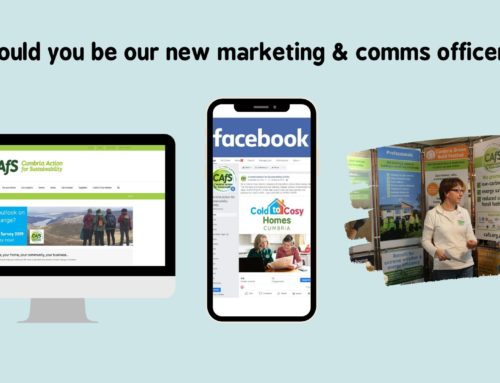 Could you be our new marketing & communications officer?
