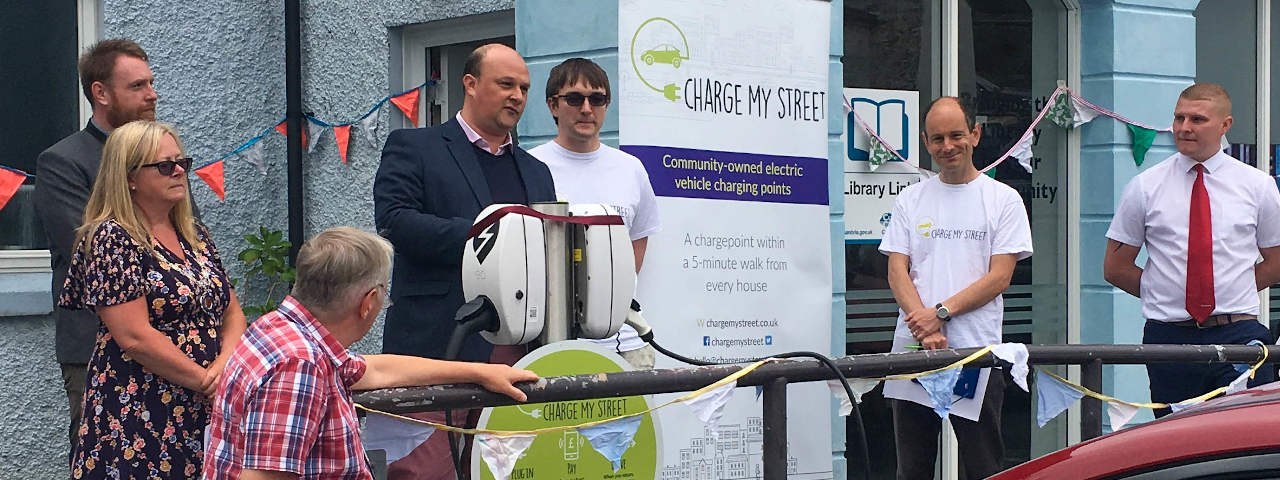 Launch of a charge point