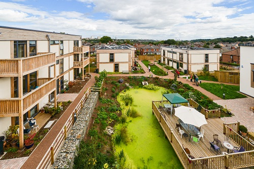 Strawbale homes, allotments & a pond - Hear about inspiring community housing