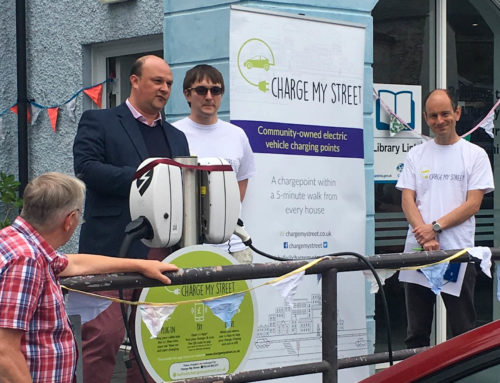 EV chargepoint share offer under way