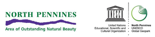 Logo for North Pennines AONB & Geopark
