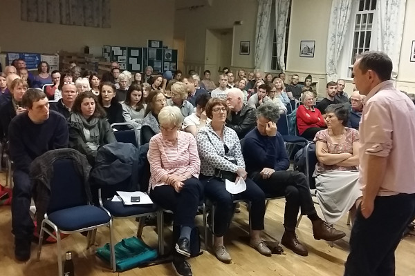 The audience at Mike berners lee talk