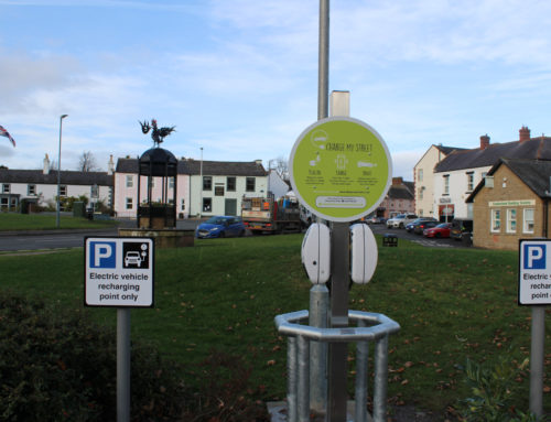 Two new EV chargepoints go live in Cumbria