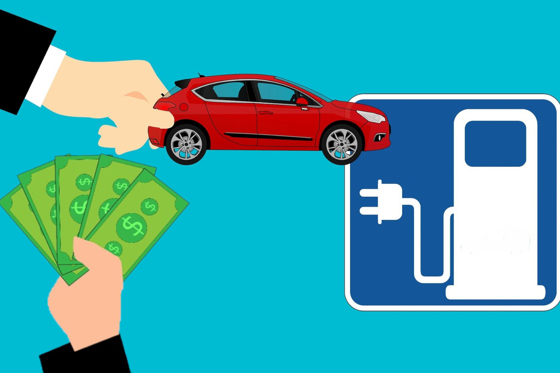 Electric vehicle and money