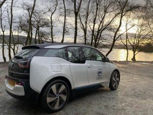 Lake District National Park electric car