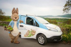 World of Beatrix Potter electric van
