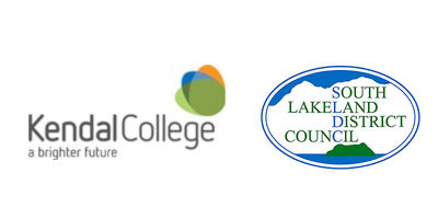 Kendal College & South Lakeland District Council logos